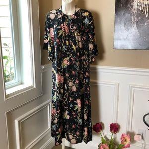 GP&J Baker for H&M Bird Print Granny Dress